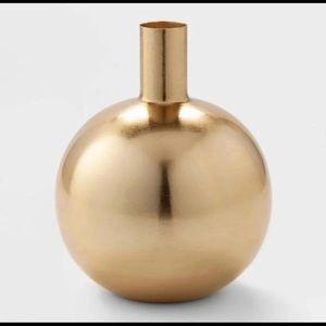 Project 62 decorative brass vase